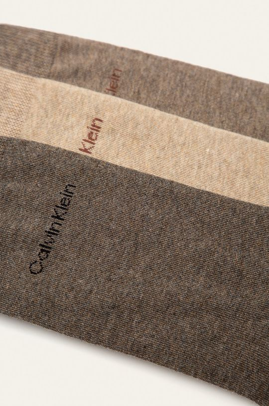Calvin Klein - Skarpetki (3-pack) 72 % Bawełna, 3 % Elastan, 25 % Poliamid