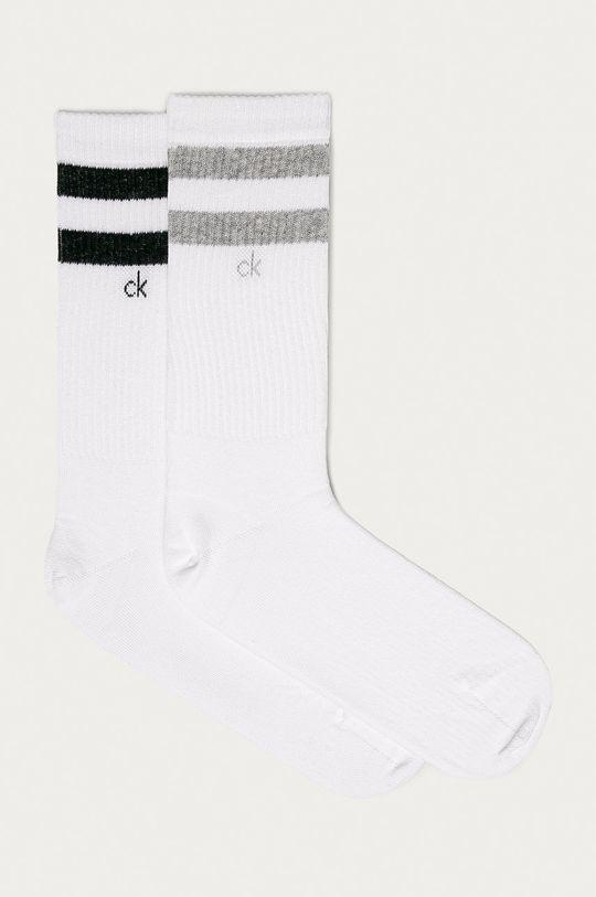biela Calvin Klein - Ponožky (2-pak) Pánsky