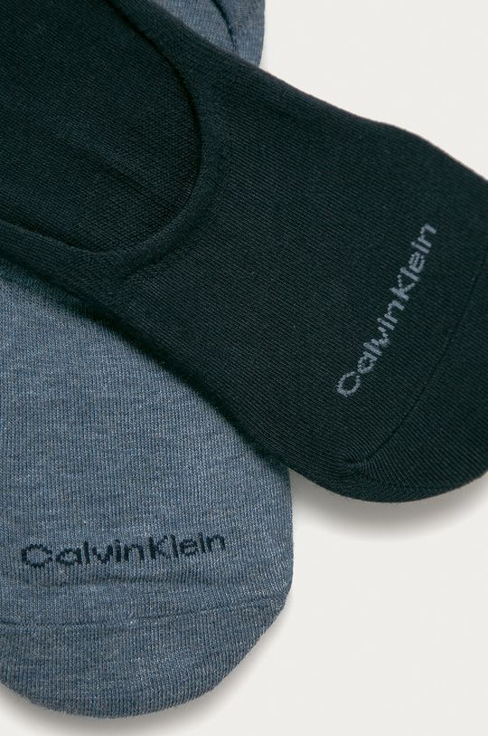 Calvin Klein - Stopki (2-pack) niebieski