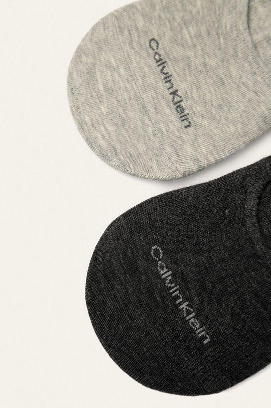 Calvin Klein - Stopki (2-pack) szary