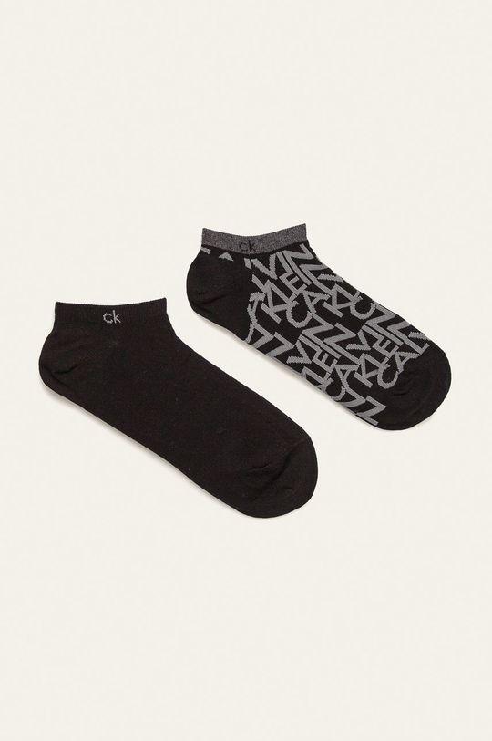 černá Calvin Klein - Ponožky (2-pack) Pánský