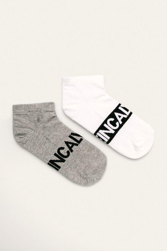 bílá Calvin Klein - Ponožky (2-pack) Pánský