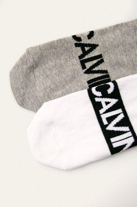 Calvin Klein - Ponožky (2-pack) bílá