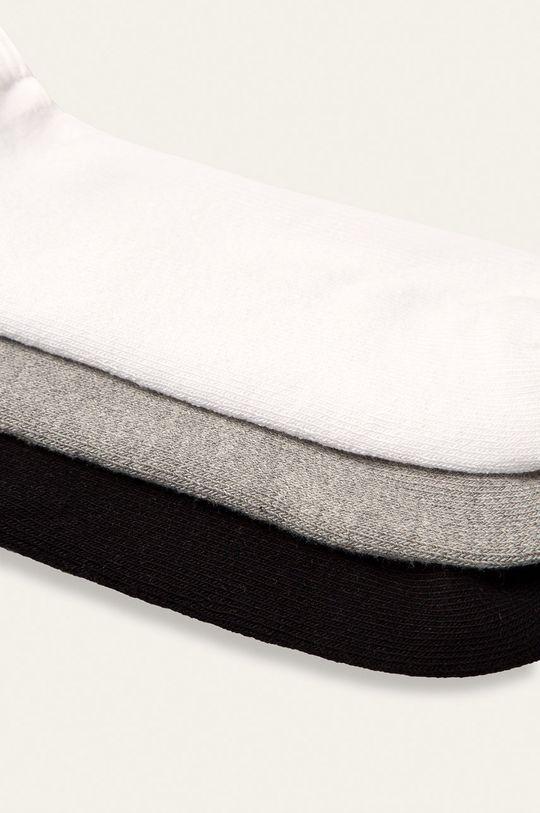 Calvin Klein - Členkové ponožky (6-pak) sivá