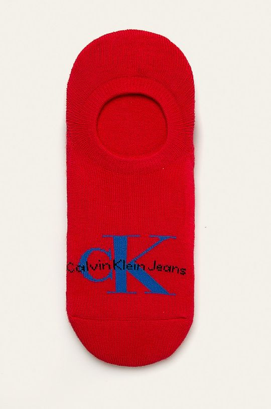 červená Calvin Klein - Kotníkové ponožky Pánský