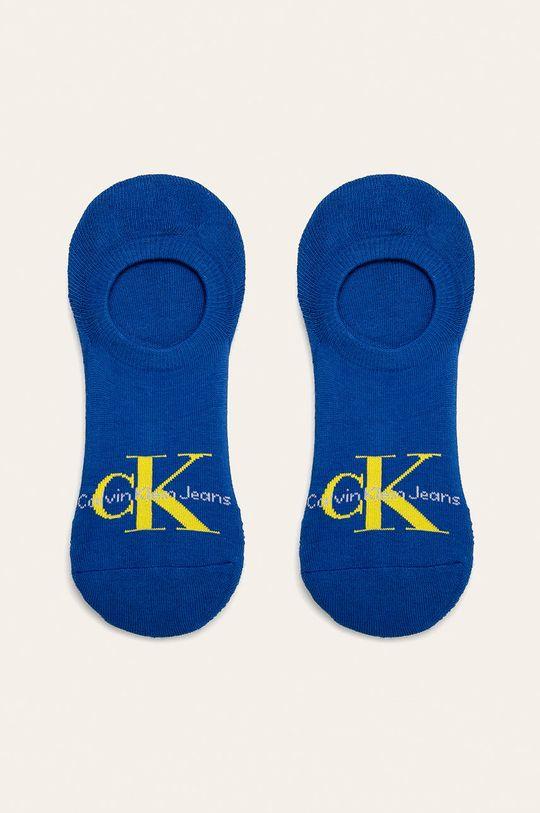 světle modrá Calvin Klein - Kotníkové ponožky Pánský