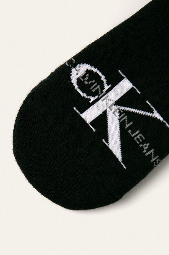 Calvin Klein - Kotníkové ponožky černá