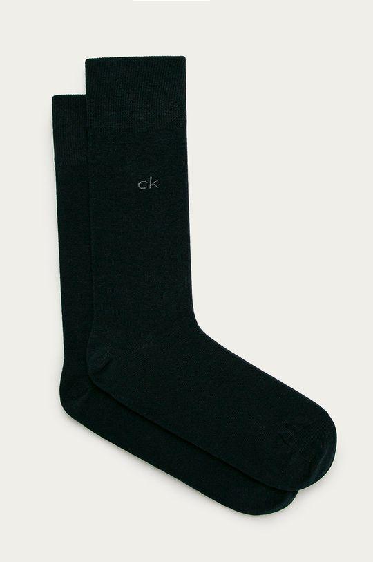 tmavomodrá Calvin Klein - Ponožky (2-pak) Pánsky