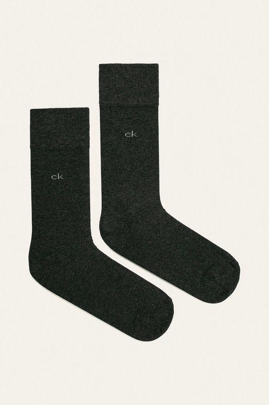 gri Calvin Klein - Sosete (2-pack) De bărbați