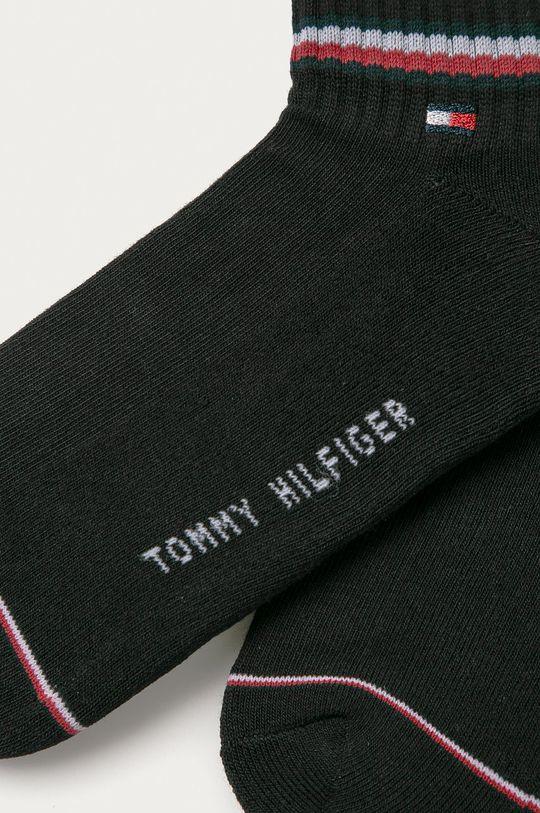 Tommy Hilfiger - Ponožky (2-pak) čierna