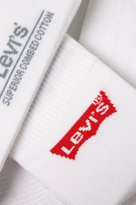 Levi's - Sosete (3-pack) alb