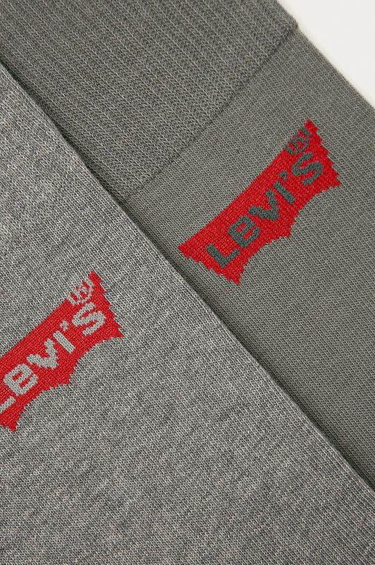 Levi's - Ponožky (3-pak) sivá