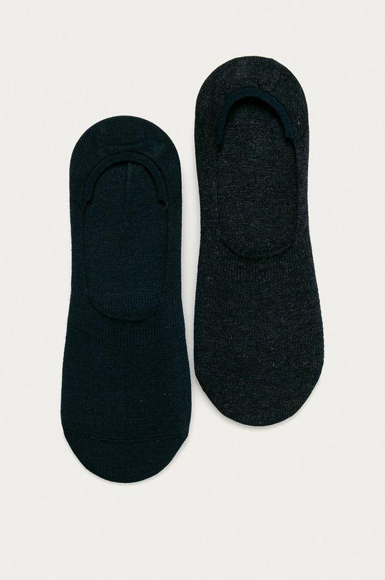 námořnická modř Levi's - Kotníkové ponožky (2-pack) Pánský
