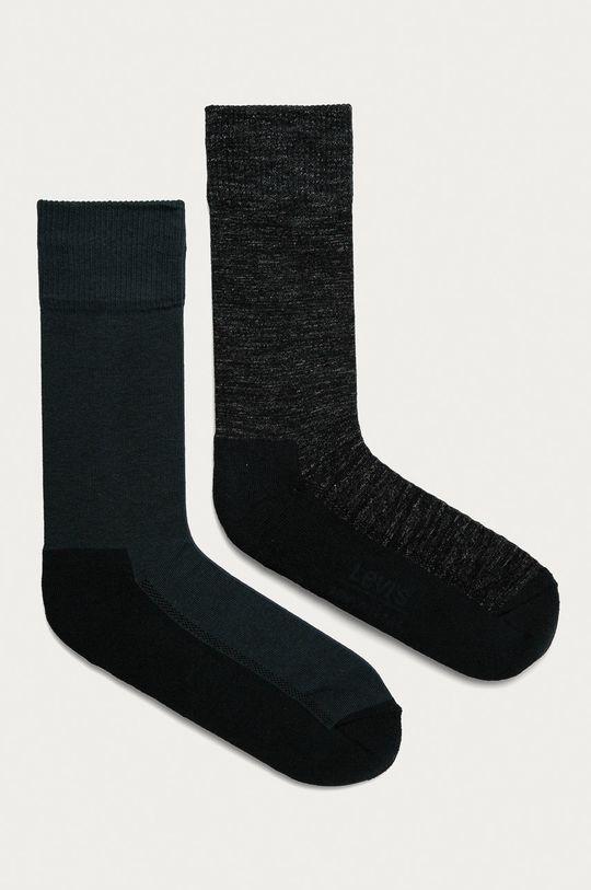 tmavomodrá Levi's - Ponožky (2-pak) Pánsky