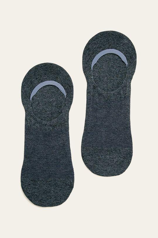 stalowy niebieski Calvin Klein - Skarpetki (2-pack) Męski