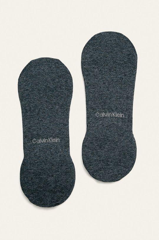 Calvin Klein - Skarpetki (2-pack) stalowy niebieski