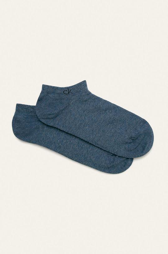modrá Calvin Klein - Ponožky (2-pack) Pánský