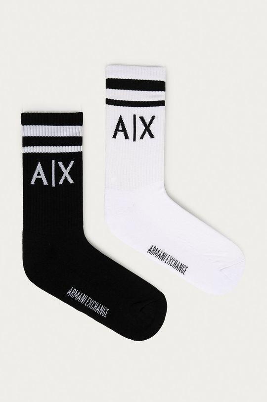 viacfarebná Armani Exchange - Ponožky (2-pak) Pánsky