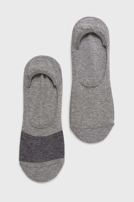 grafitová Levi's - Ponožky (2-pack) Pánský
