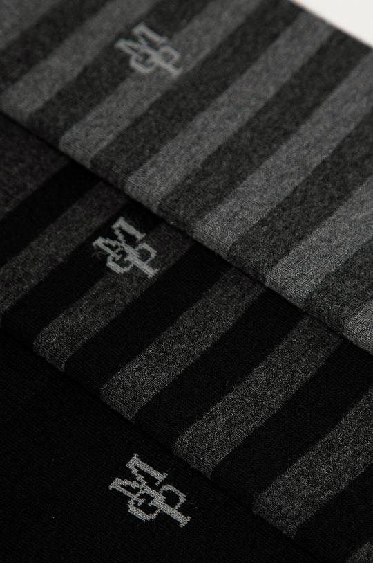 Marc O'Polo - Ponožky (3-pak) čierna
