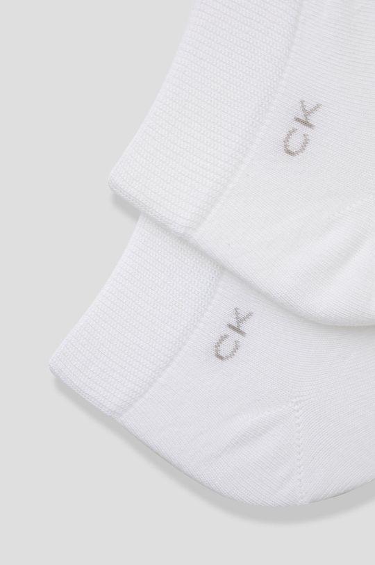 Calvin Klein - Sosete (2-pack) alb