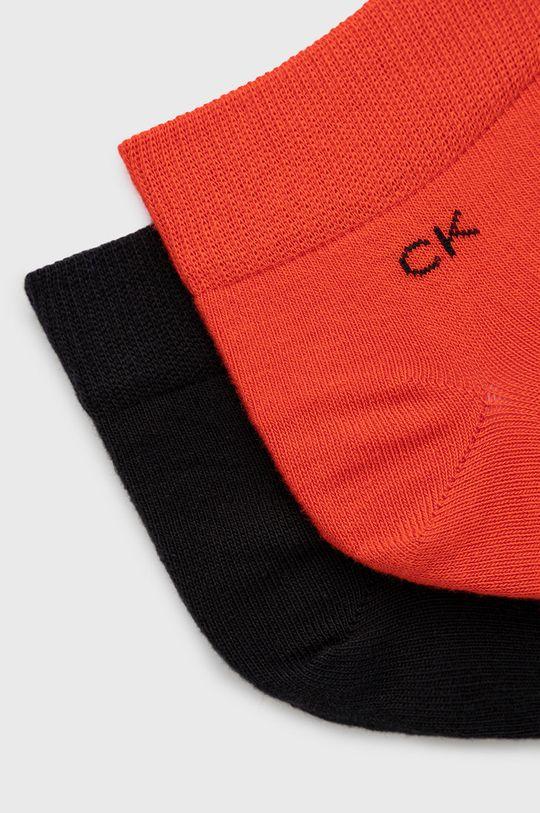 Calvin Klein - Ponožky (2-pak) červená