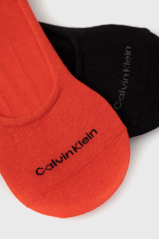 Calvin Klein - Ponožky červená