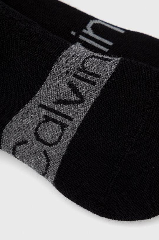Calvin Klein - Ponožky (2-pak) čierna