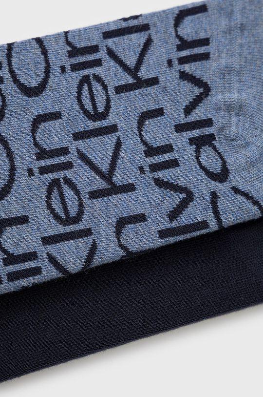 Calvin Klein - Sosete (2-pack) albastru