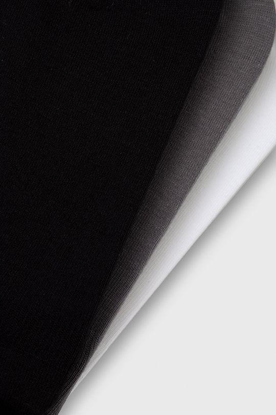 Calvin Klein - Ponožky (3-pak) sivá