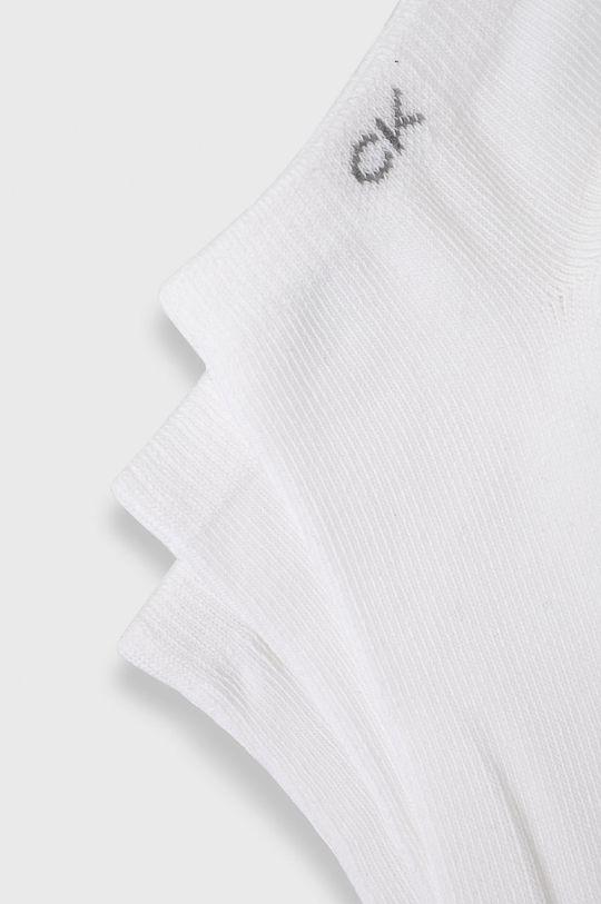 Calvin Klein - Sosete (3-pack) alb