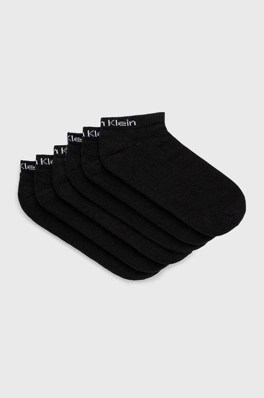 negru Calvin Klein - Sosete (6-pack) De bărbați