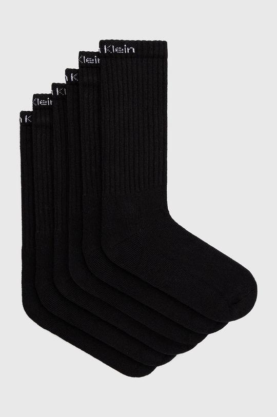 čierna Calvin Klein - Ponožky (6-pak) Pánsky