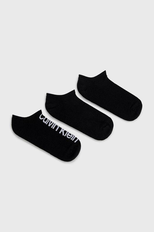 negru Calvin Klein - Sosete (3-pack) De bărbați