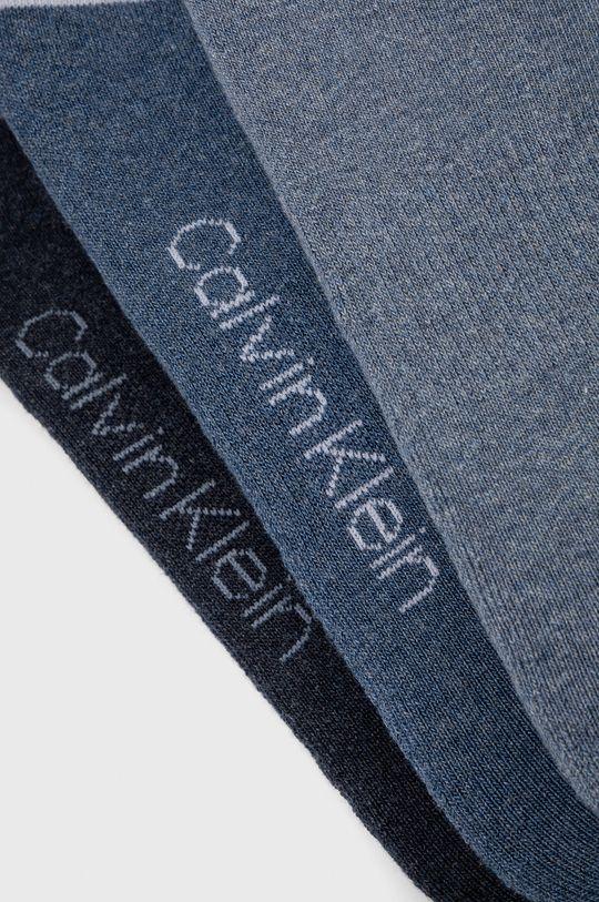 Calvin Klein - Sosete (3-pack) albastru