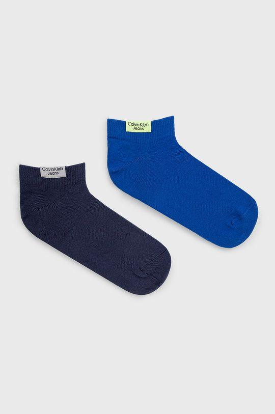 albastru Calvin Klein Jeans - Sosete (2-pack) De bărbați