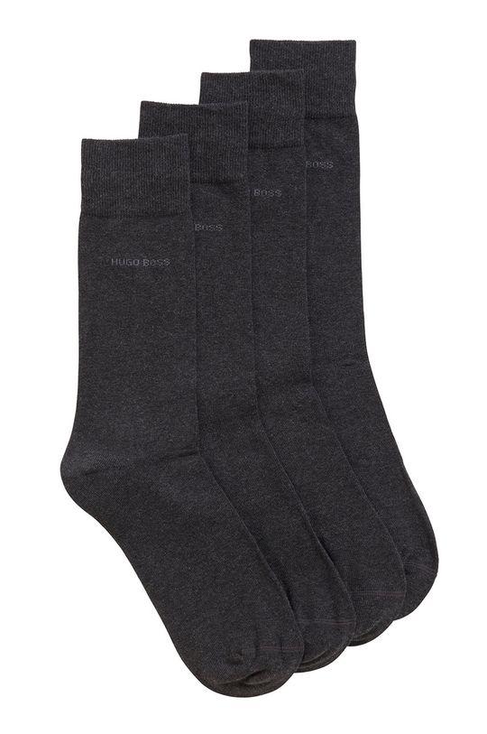grafitová Boss - Ponožky (2-pak) Pánsky