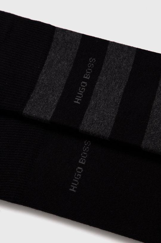 Boss - Ponožky (2-pack)  80% Bavlna, 2% Elastan, 18% Polyamid