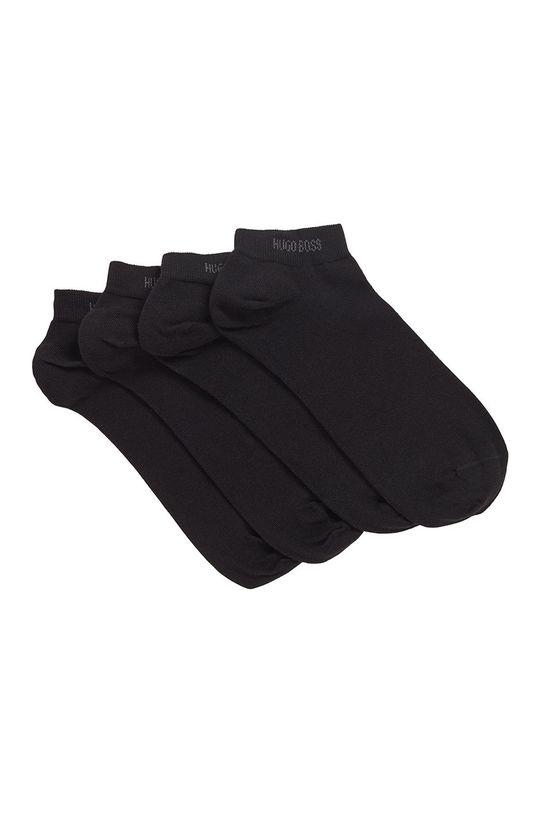 čierna Boss - Ponožky (2-pak) Pánsky
