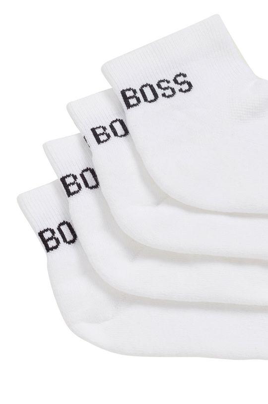 biały Boss - Skarpety (2-PACK)