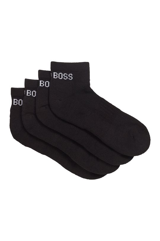 negru Boss - Sosete (2-pack) De bărbați