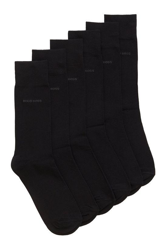 čierna Boss - Ponožky (3-pak) Pánsky