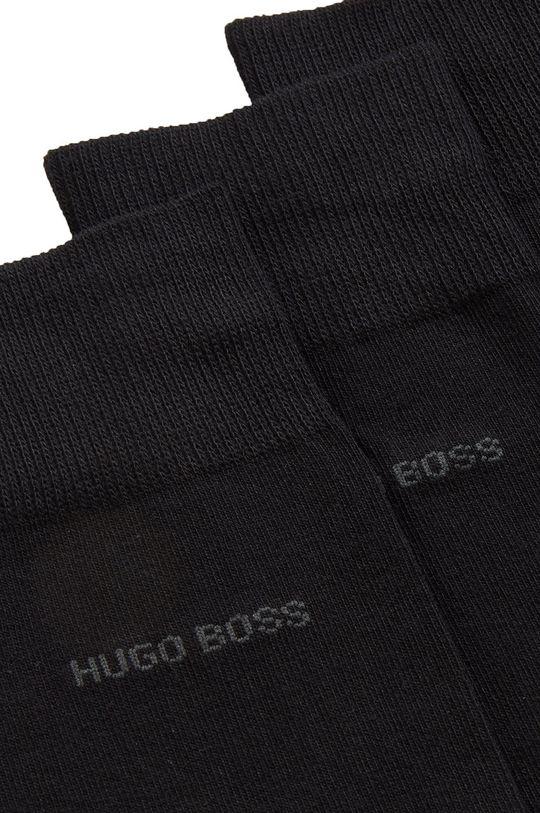 Boss - Ponožky (3-pak) čierna