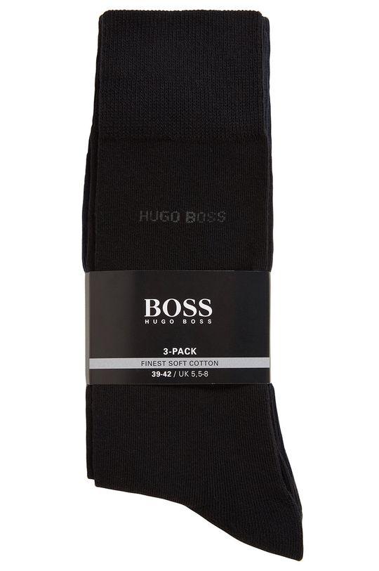 Boss - Sosete (3-pack)  75% Bumbac, 2% Elastan, 23% Poliamida