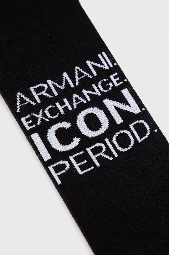 Armani Exchange - Ponožky čierna