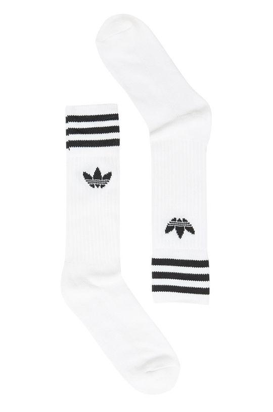 biały adidas Originals - Skarpety (3-pak) Męski