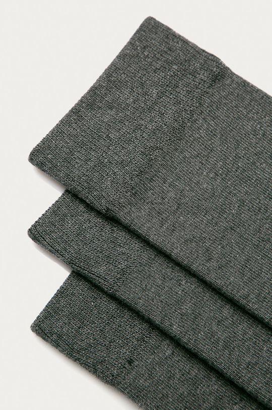 Selected - Skarpety (3-pack) szary