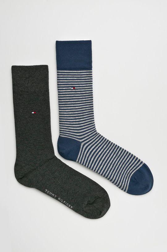 sivá Tommy Hilfiger - Ponožky (2-pak) Pánsky
