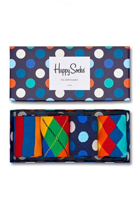 vícebarevná Happy Socks - Ponožky Gift Box (4-pak) Pánský