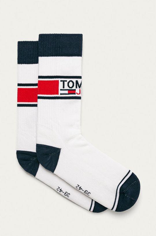 biały Tommy Jeans - Skarpetki (2-pack) Unisex